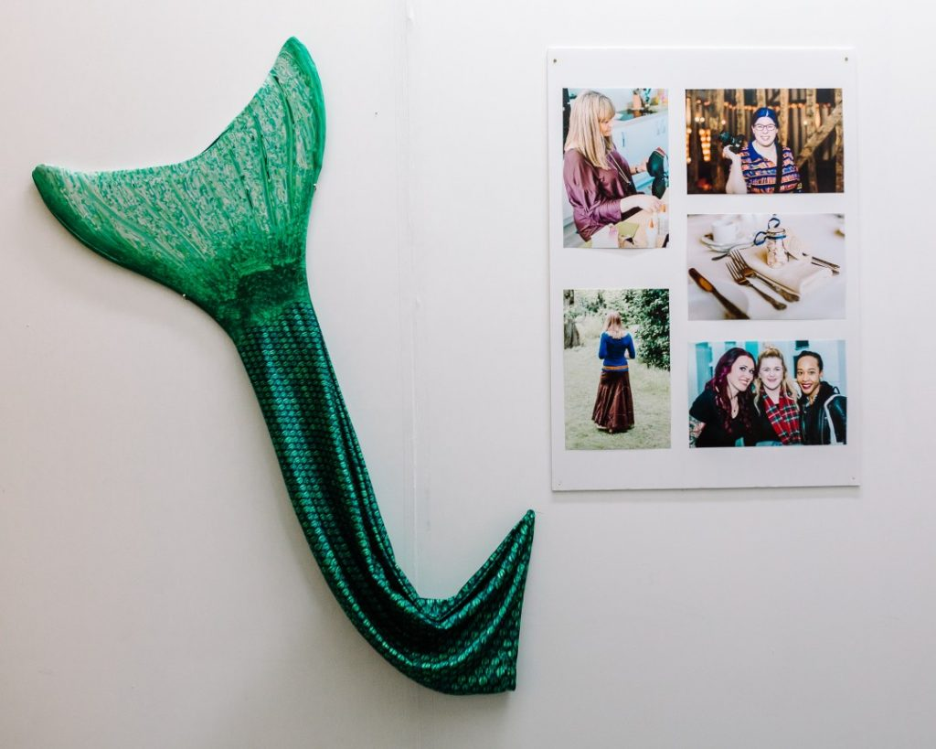 A mermaid tail and some prints of commercial photography work | carlawatkins.com