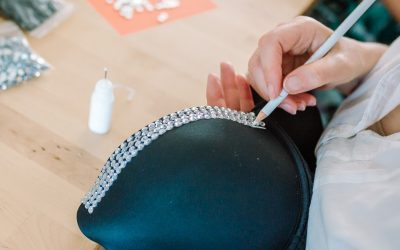 Branding Photography: Bra Blinging with Miss Foxy Glove