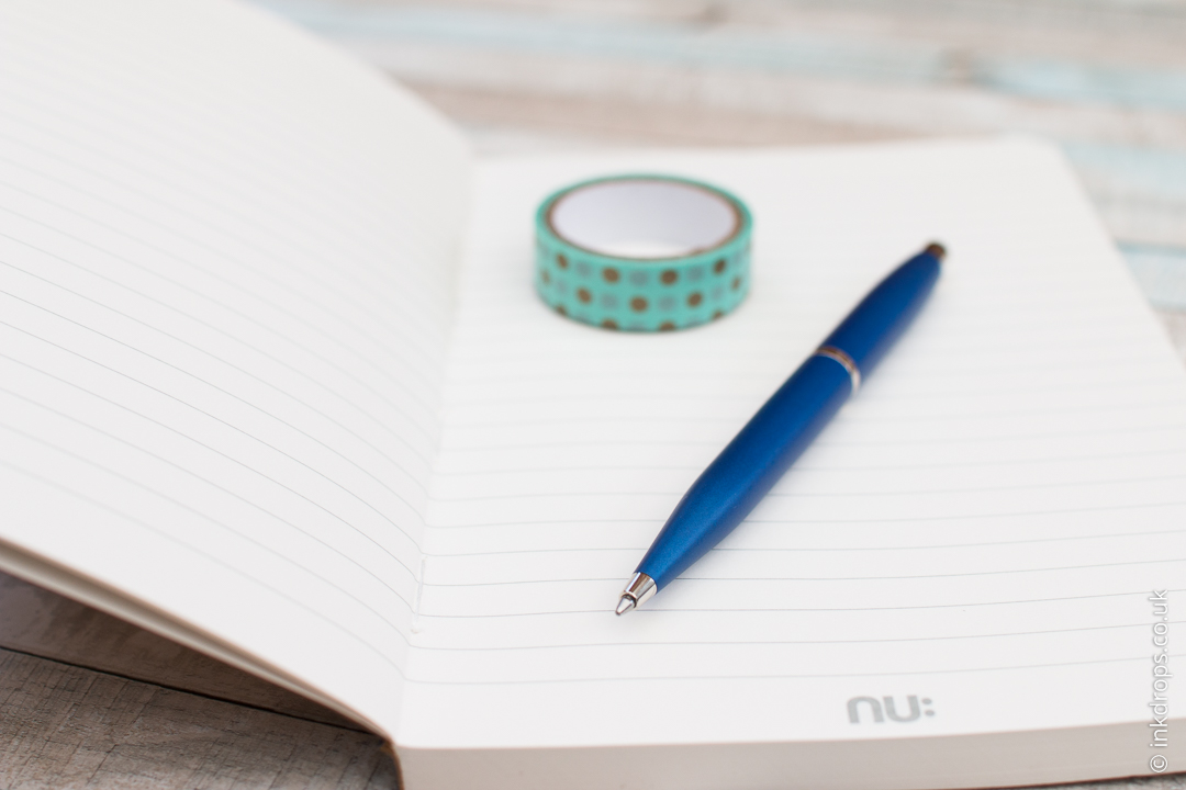 Getting to grips with planning, with a notebook, pen & washi tape - juggling your day job
