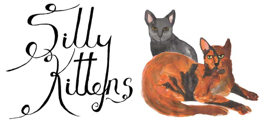 silly kittens logo