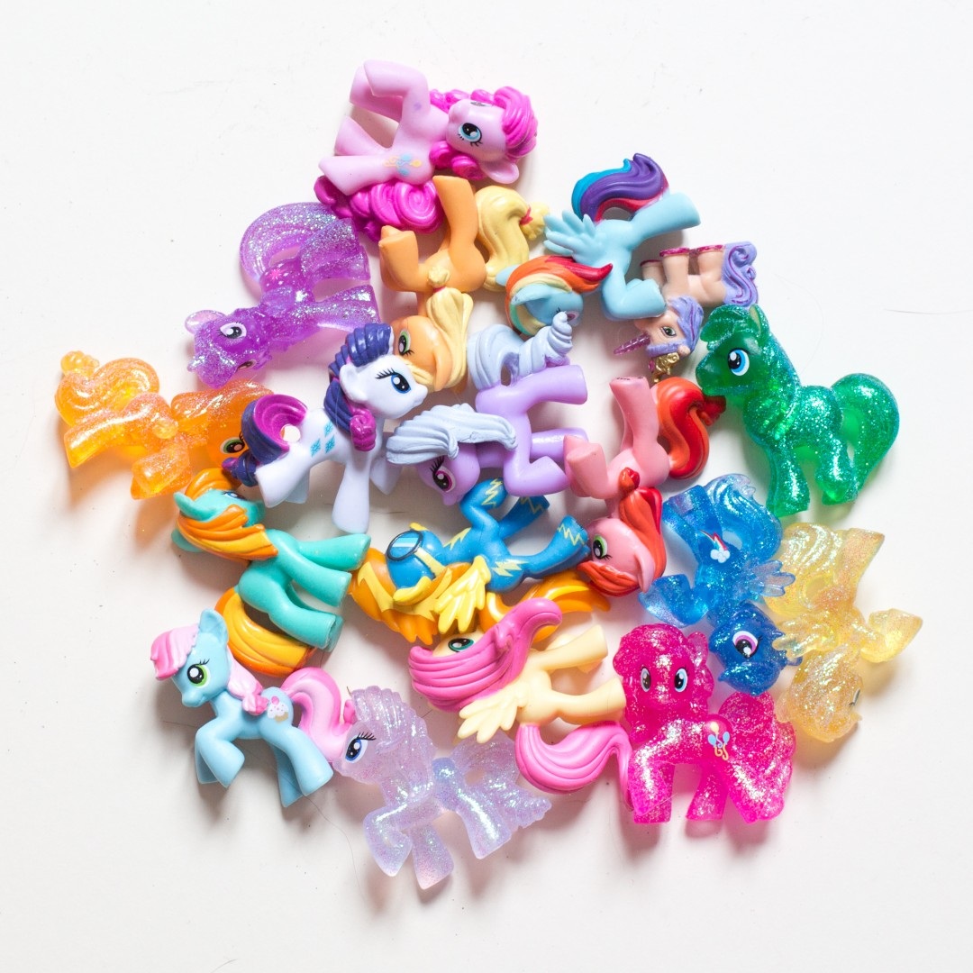 My Little Pony figurines | product shots by Carla Watkins Business & Branding Photography | carlawatkins.com