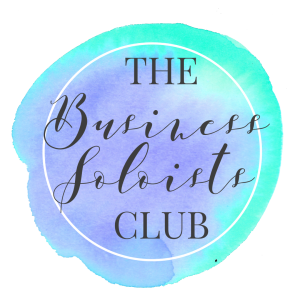 Business Soloists Club logo - club for entrepreneurs & side hustlers | carlawatkins.com