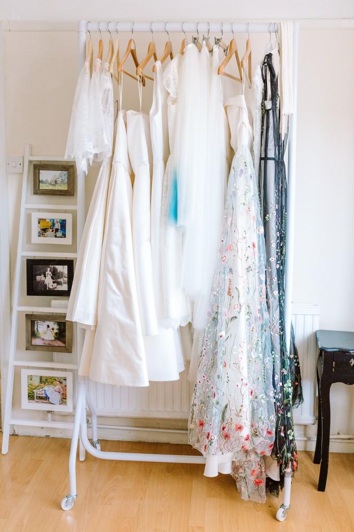 Louise Rose Couture studio | Carla Watkins Business & Branding Photography | carlawatkins.com