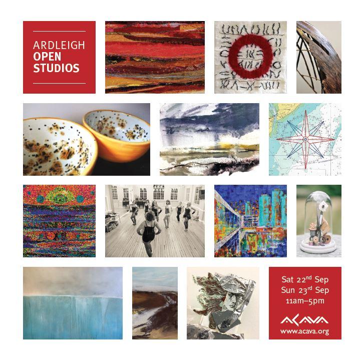 Ardleigh Studios Open Studios 2018 invitation | carlawatkins.com