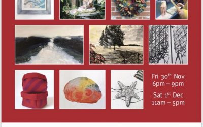 Festive Open Studios this weekend