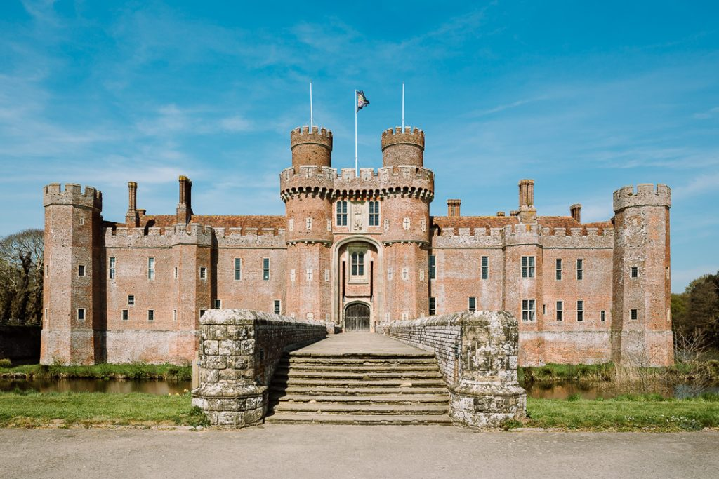Herstmonceux Castle, home of wizard school Bothwell School of Witchcraft. Event photography by Carla Watkins