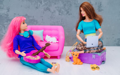 Lockdown photography: Small Business Barbie brand shoot